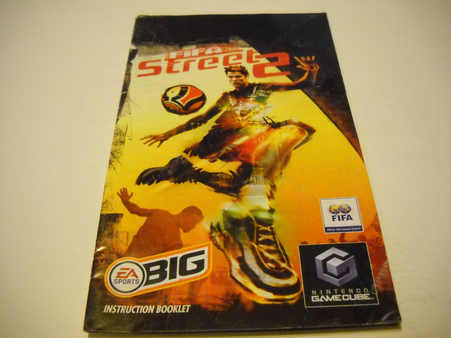 Manual ONLY ~  for Fifa Street 2   Gamecube
