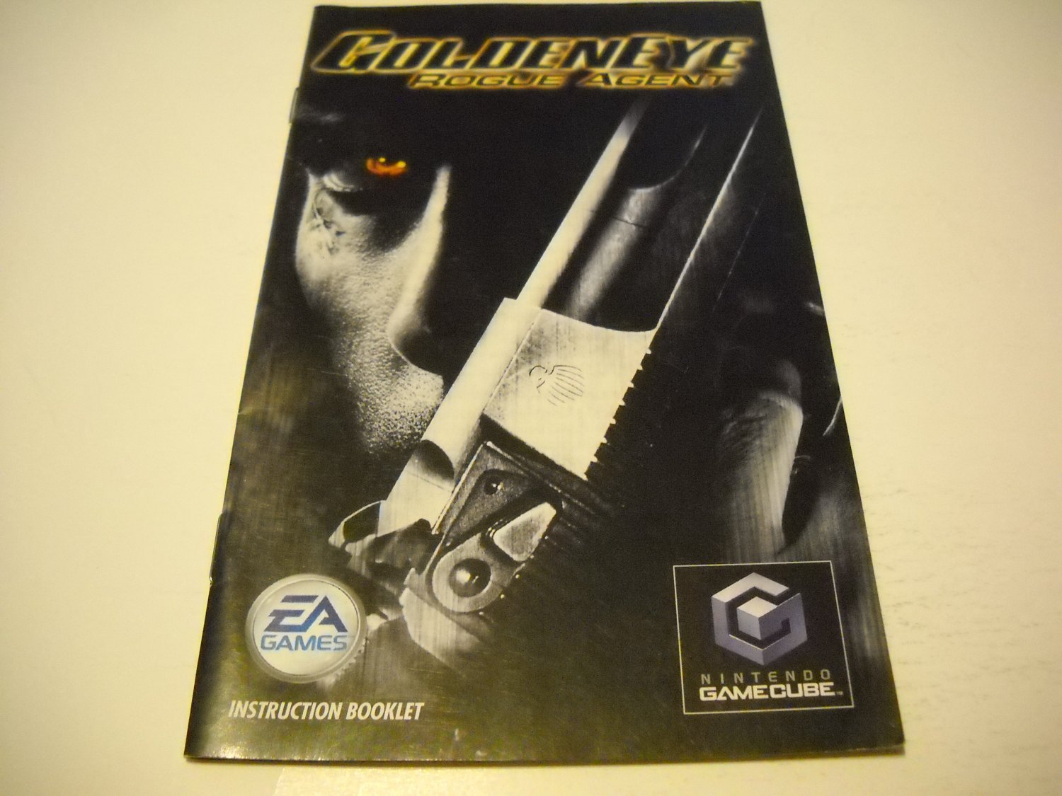 Manual ONLY ~  for GoldenEye Rogue Agent   Gamecube