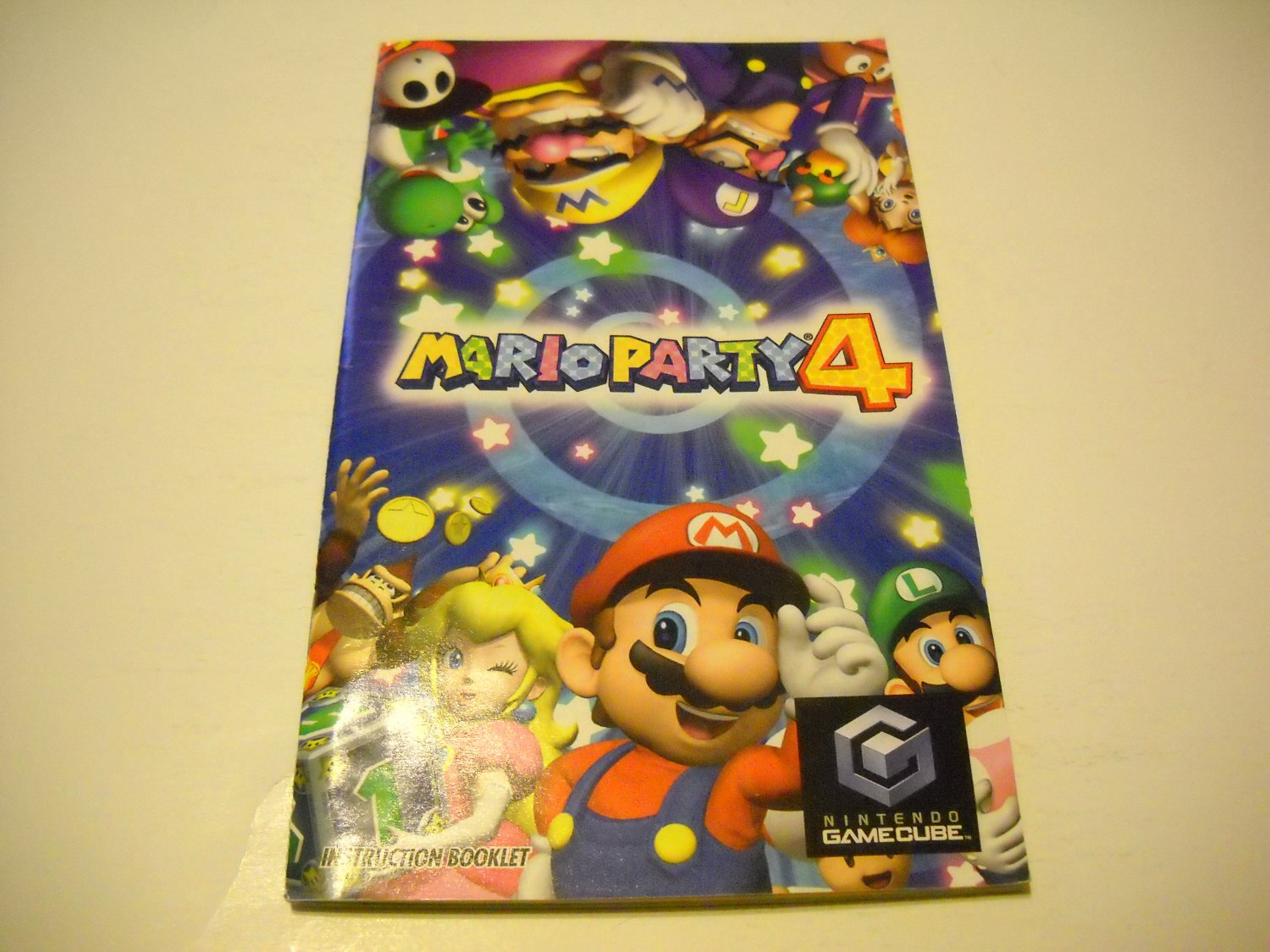Manual ONLY ~  for Mario Party 4   Gamecube