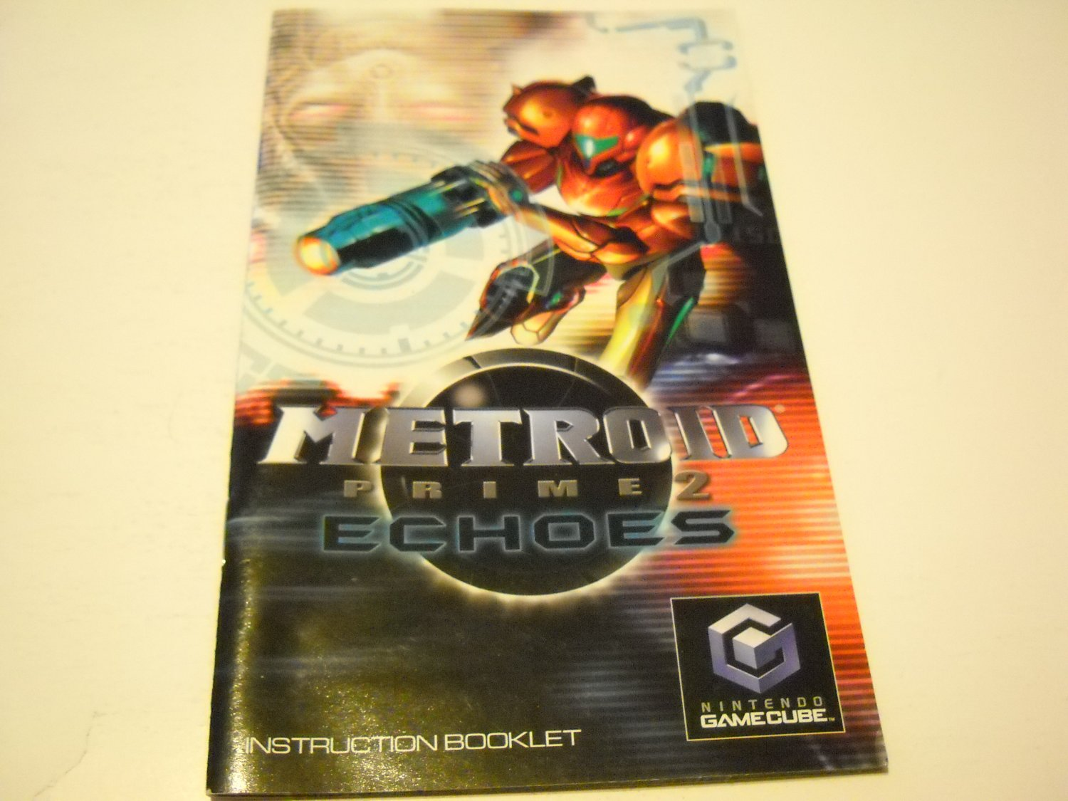 Manual ONLY ~  for Metroid Prime 2 Echos   Gamecube