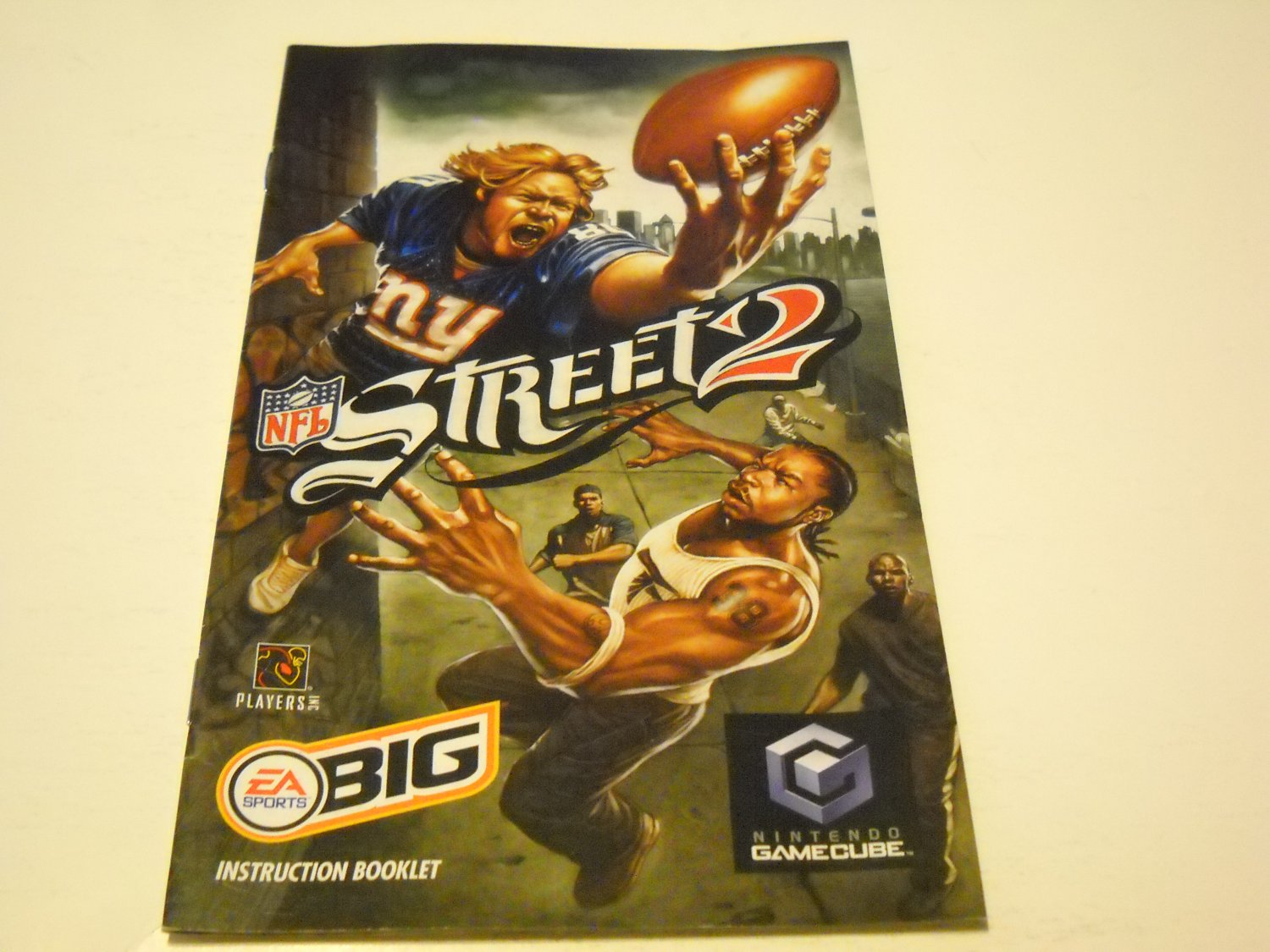 Manual ONLY ~  for NFL Street 2   Gamecube