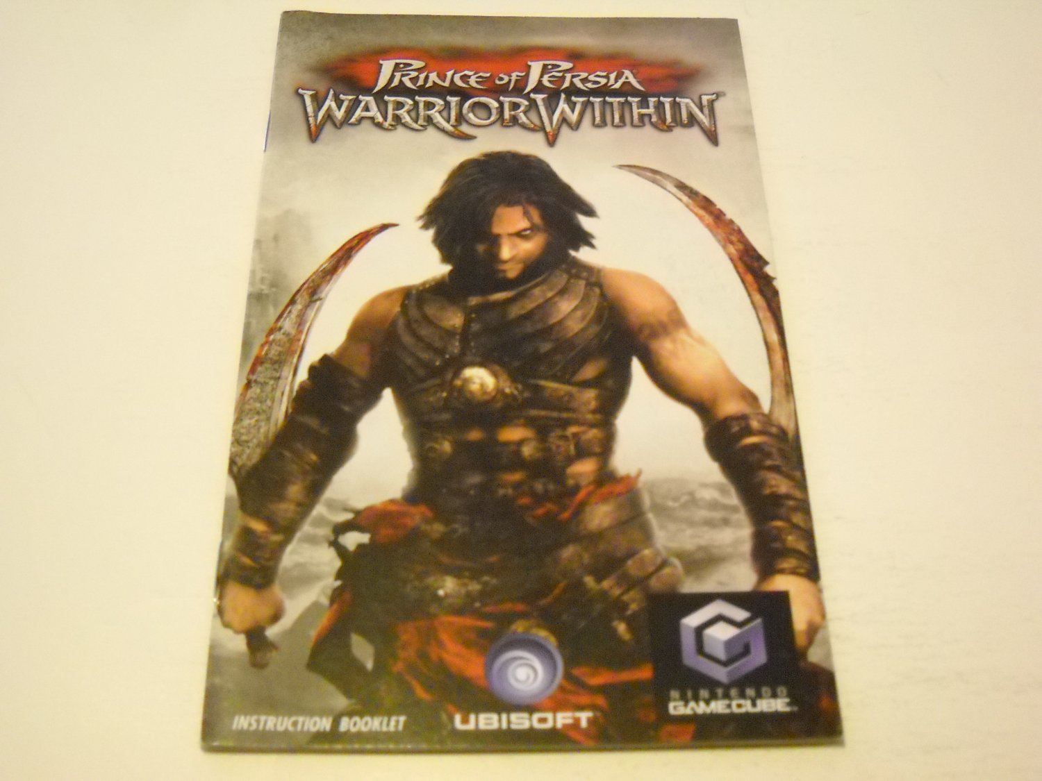 Manual ONLY ~  for Prince of Persia Warrior Within   Gamecube