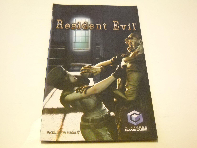Manual ONLY ~  for Resident Evil   Gamecube
