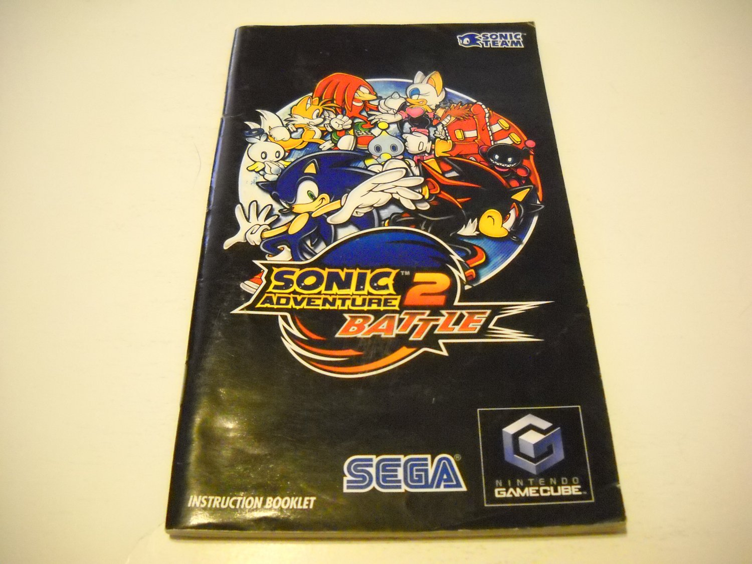 Manual ONLY ~  for Sonic Adventure 2 Battle   Gamecube