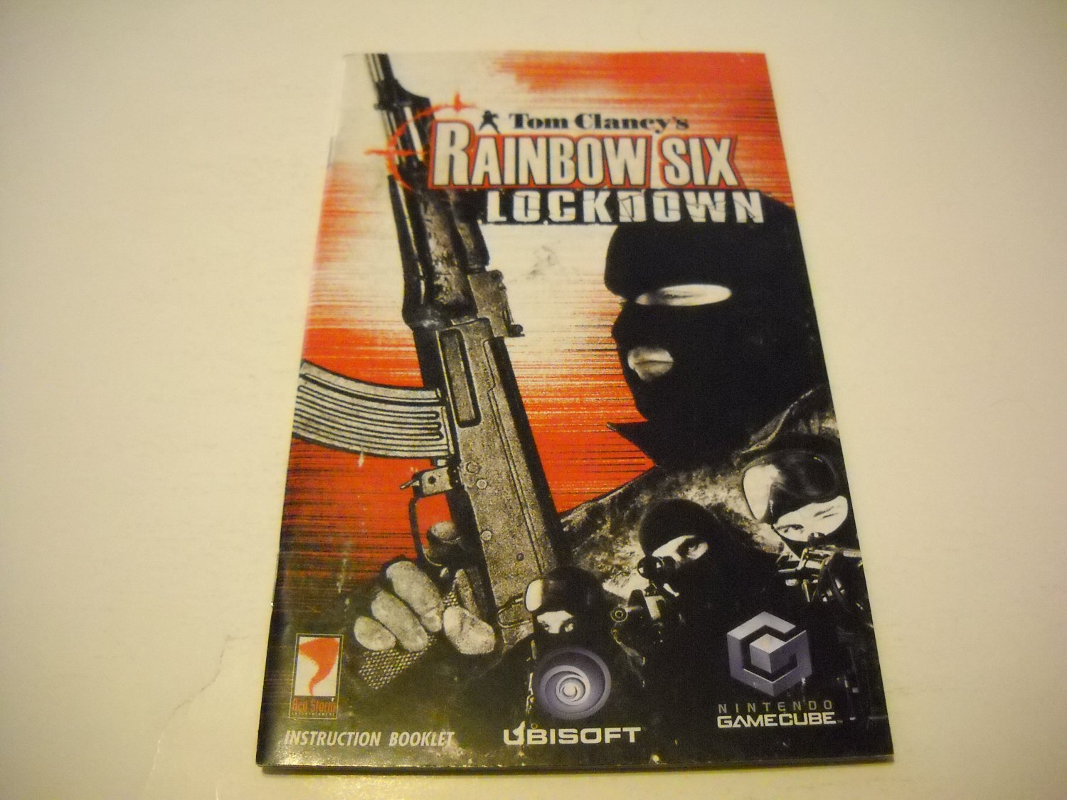 Manual ONLY ~  for Tom Clancy's Rainbow Six Lockdown   Gamecube