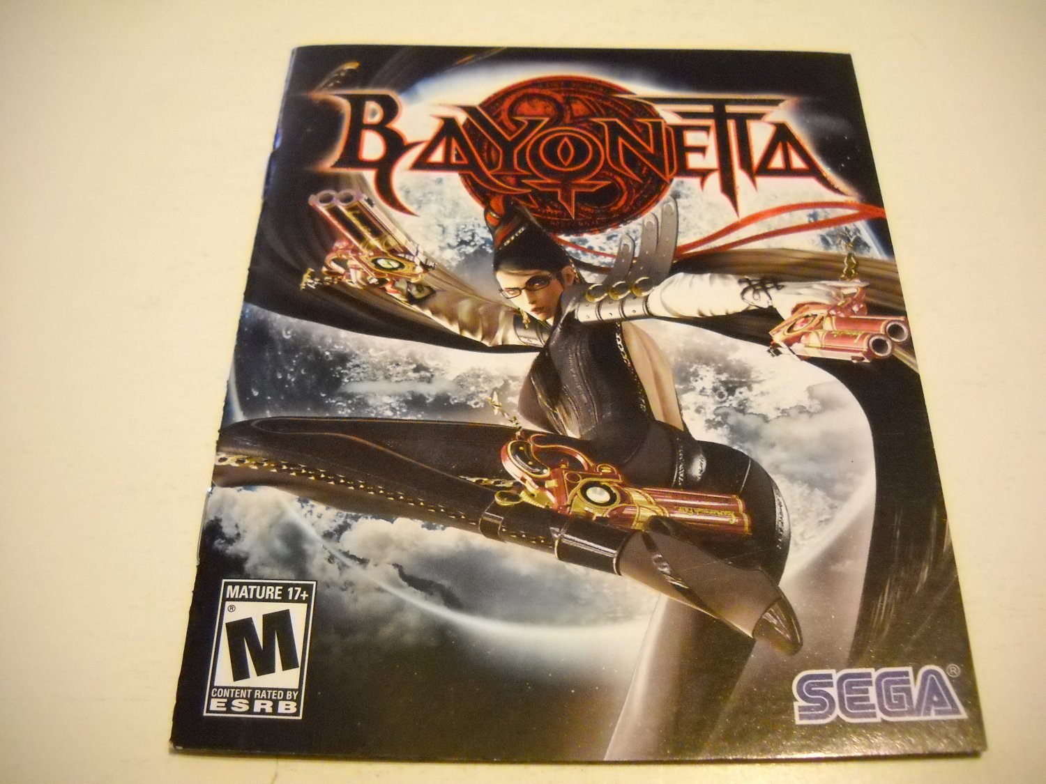 Manual ONLY ~  for Bayonetta , PS3