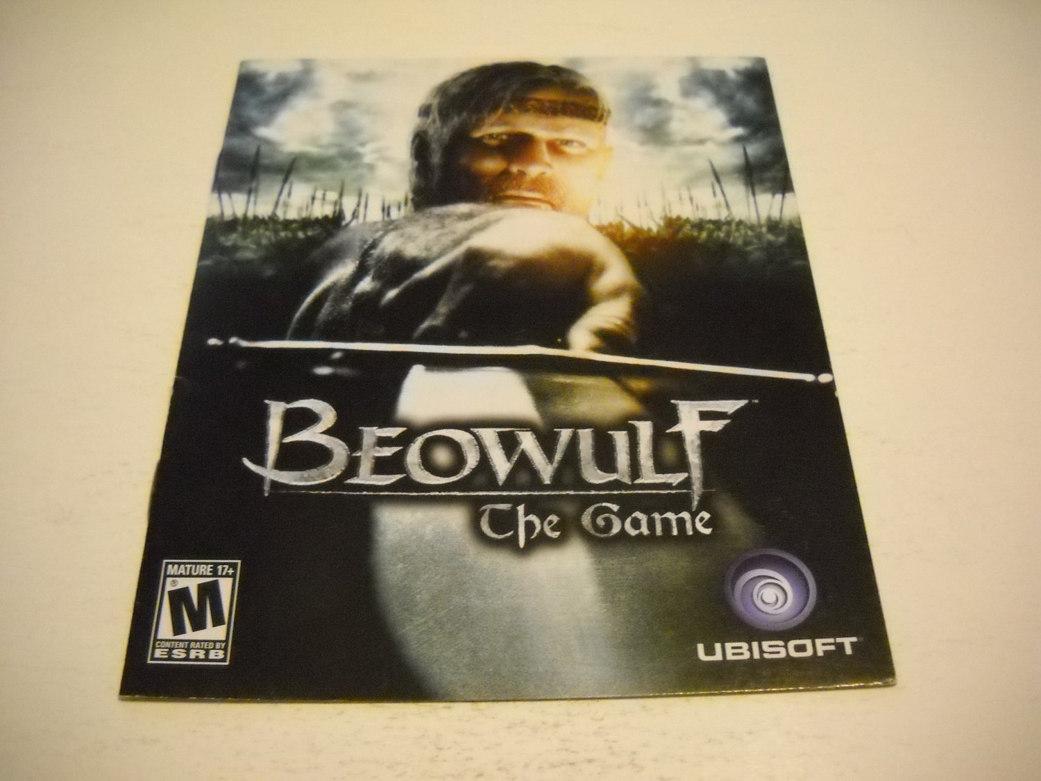 Manual ONLY ~  for Beowolf The Game , PS3