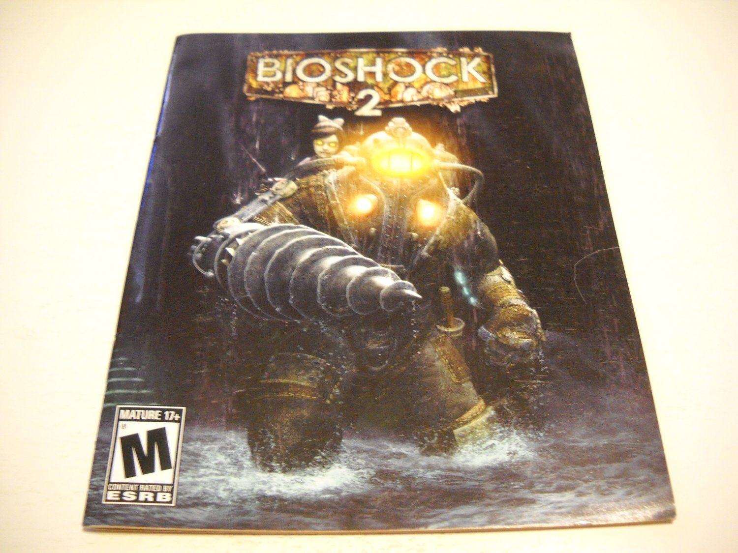 Manual ONLY ~  for Bioshock 2 , PS3