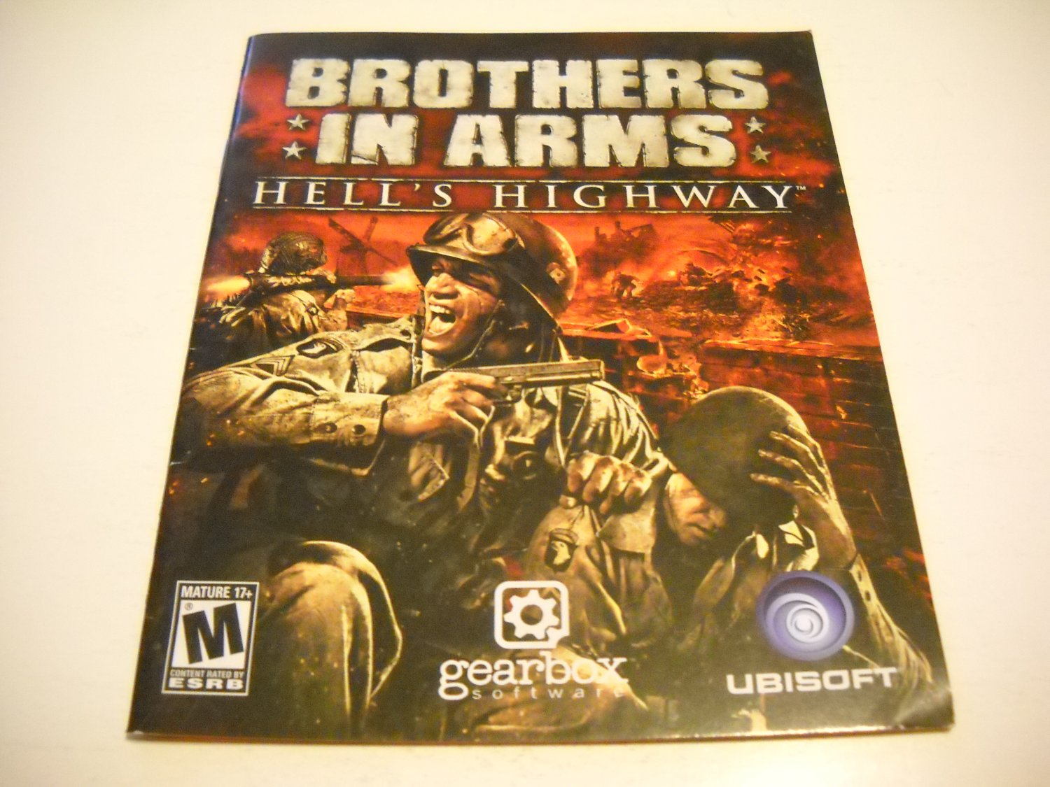 Manual ONLY ~  for Brothers in Arms Hell's Highway , PS3