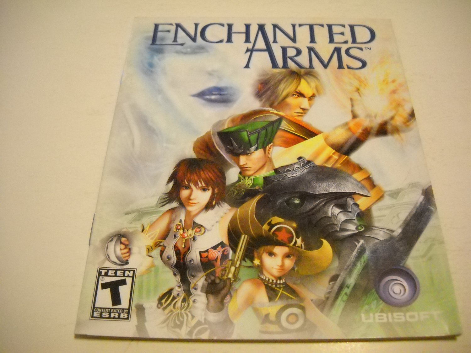 Manual ONLY ~  for Enchanted Arms , PS3