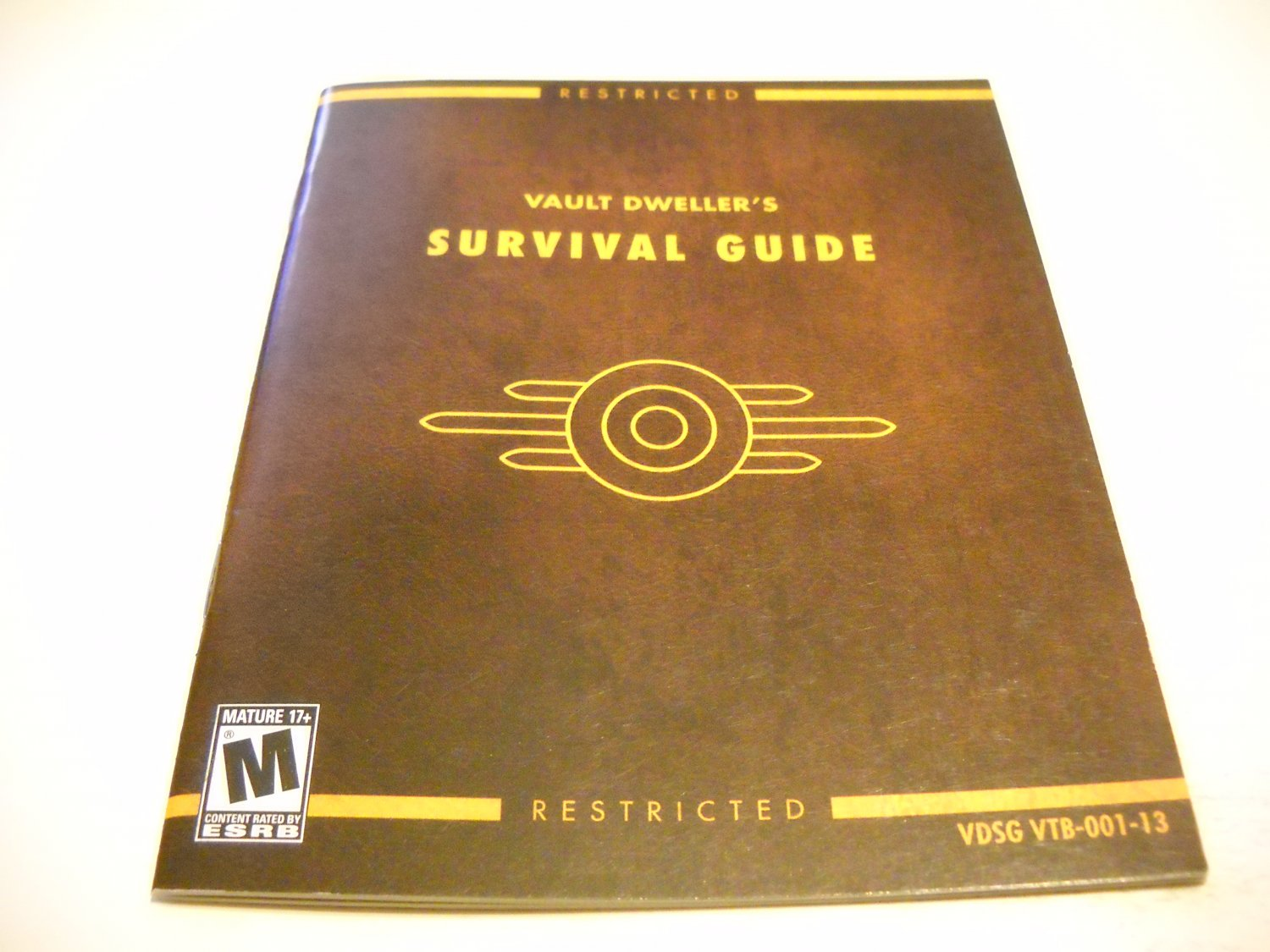 Manual ONLY ~  for Fallout 3 , PS3
