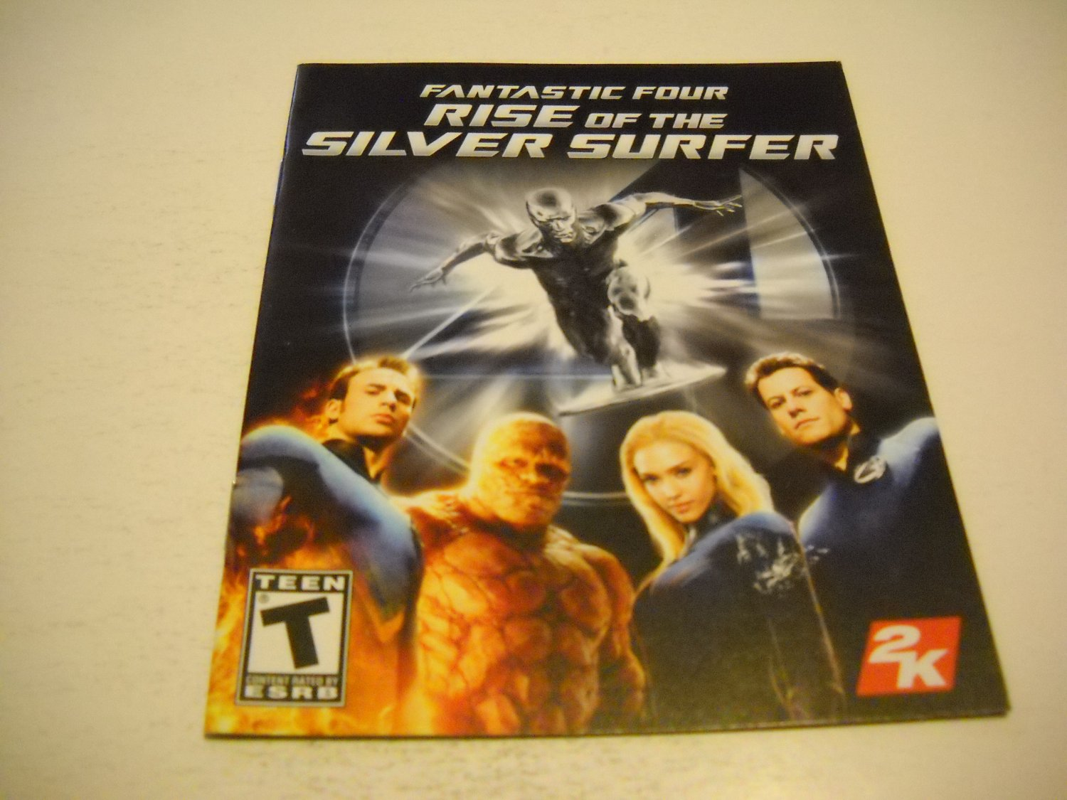 Manual ONLY ~  for Fantastic Four Rise of the Silver Surfer , PS3