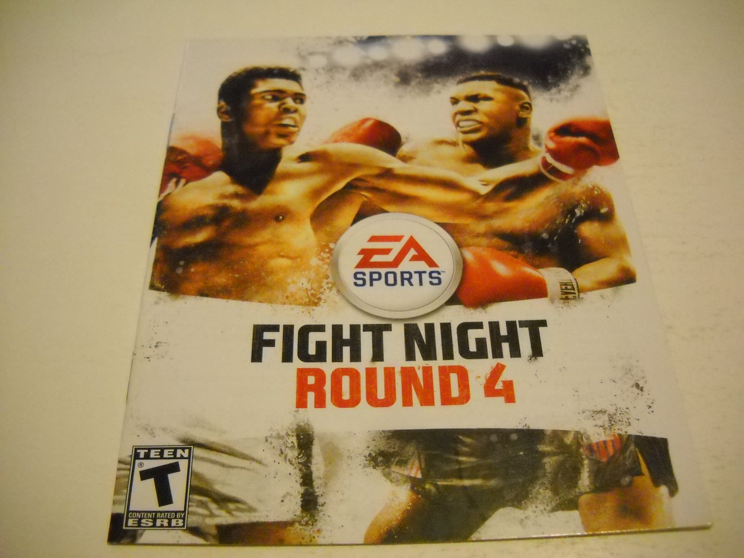 Manual ONLY ~  for Fight Night Round 4 , PS3