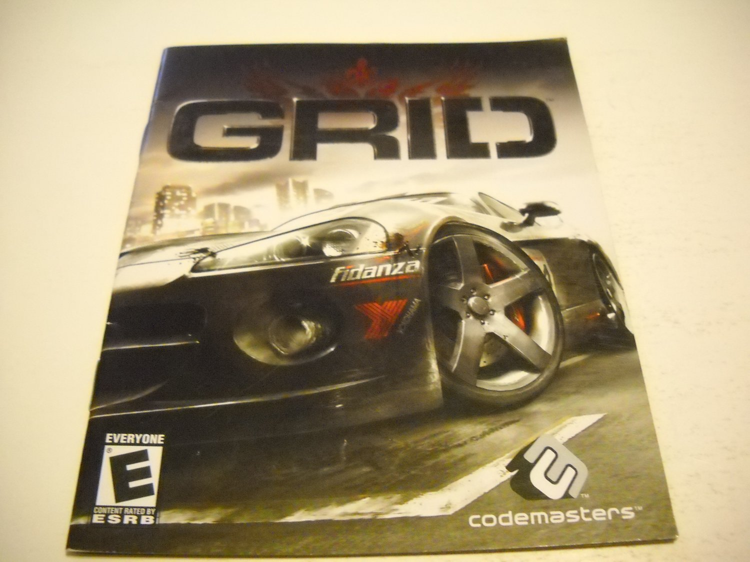 Manual ONLY ~  for Grid , PS3