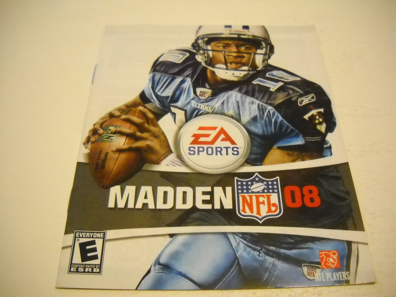 Manual ONLY ~  for Madden 08 , PS3