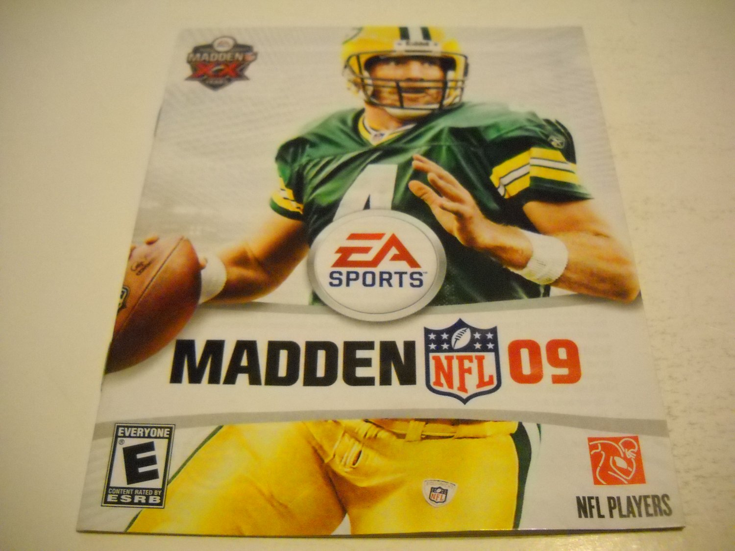Manual ONLY ~  for Madden 09 , PS3