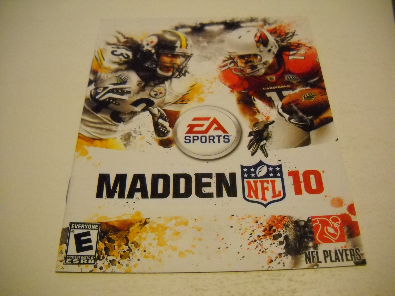 Manual ONLY ~  for Madden 10 , PS3