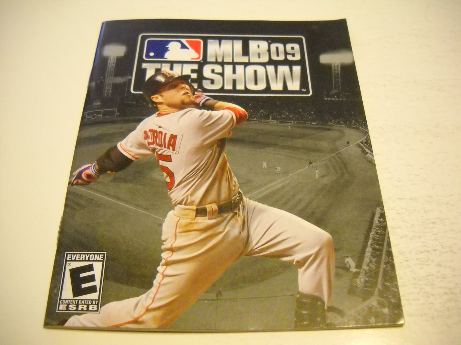 Manual ONLY ~  for MLB The Show 09 , PS3