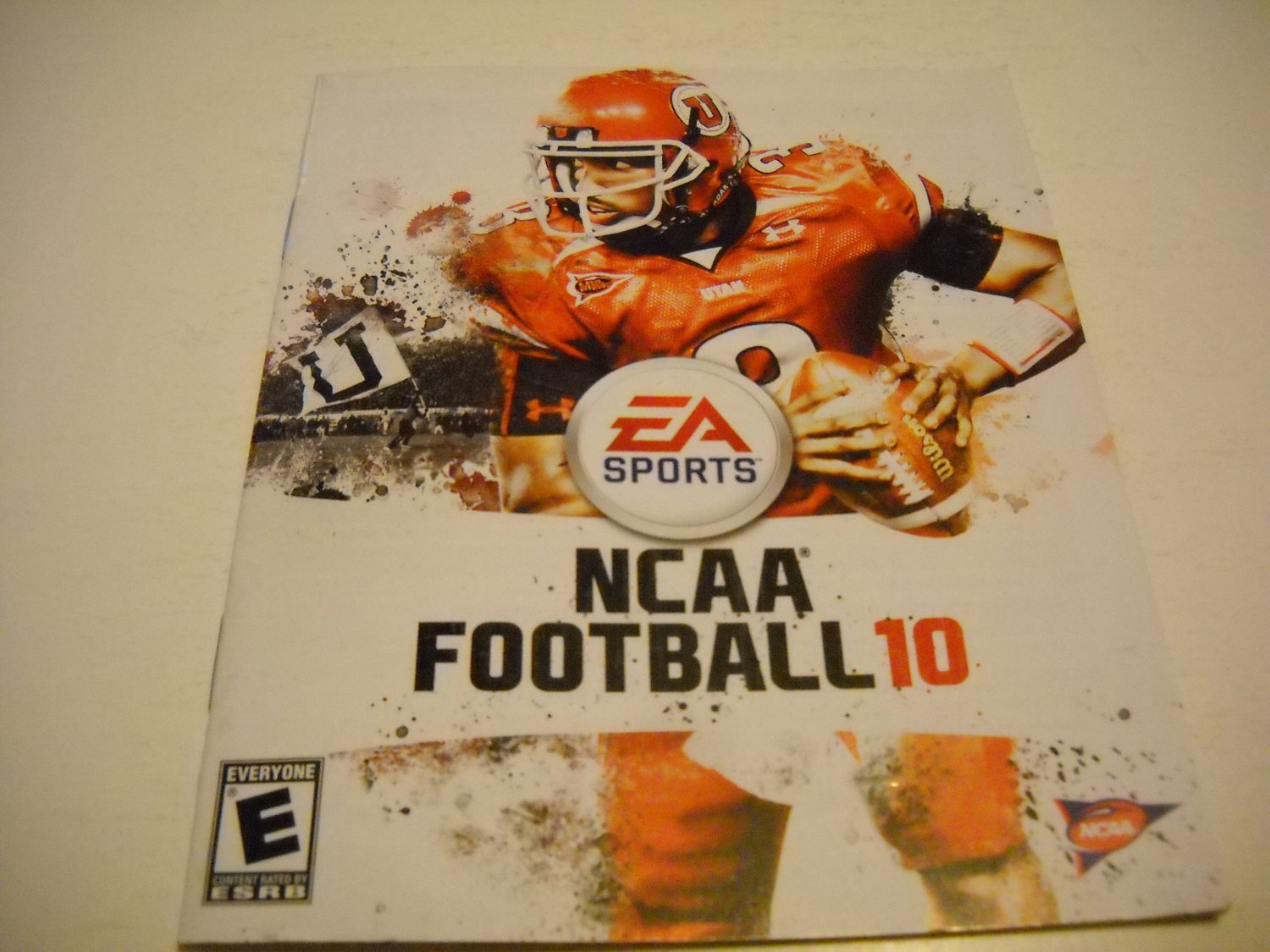Manual ONLY ~  for NCAA Football 10 , PS3