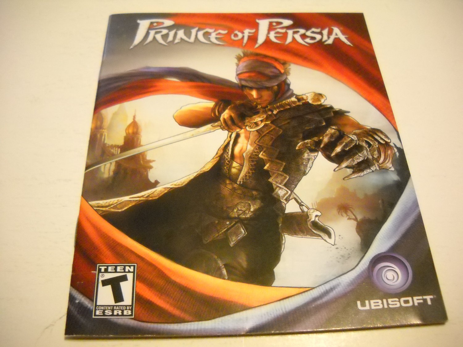 Manual ONLY ~  for Prince of Persia , PS3