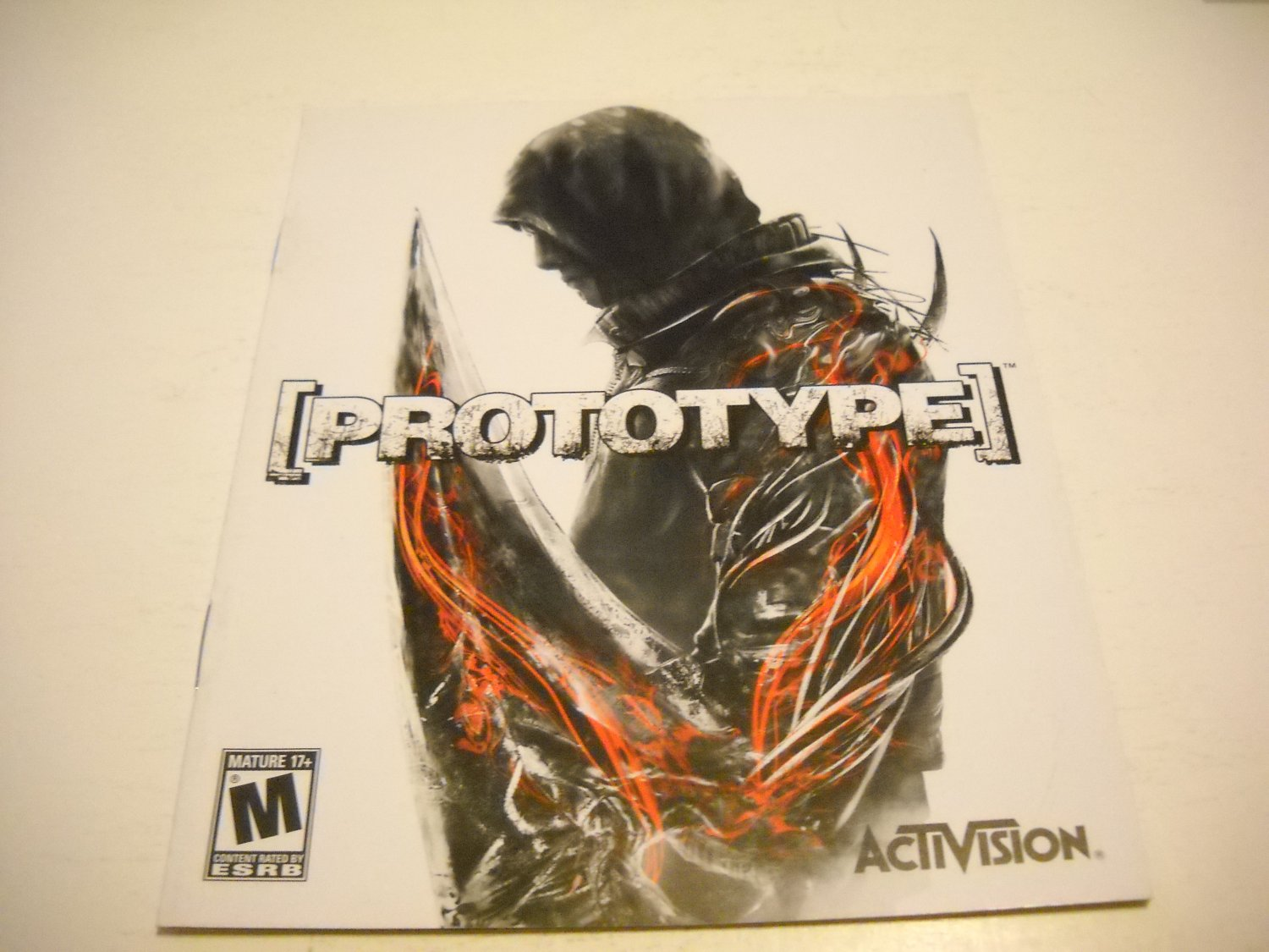 Manual ONLY ~  for Prototype , PS3