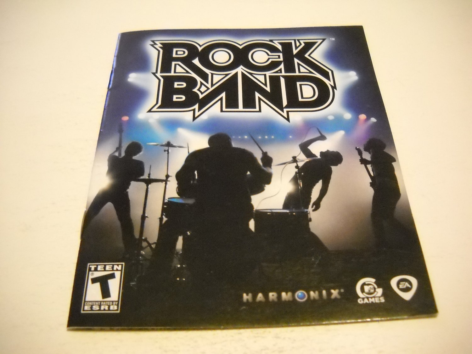 Manual ONLY ~  for Rock Band , PS3