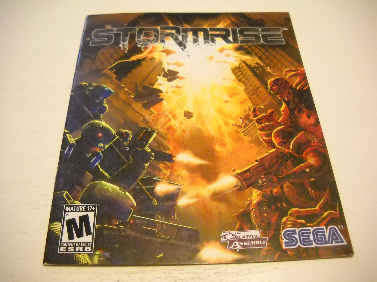 Manual ONLY ~  for Stormrise , PS3