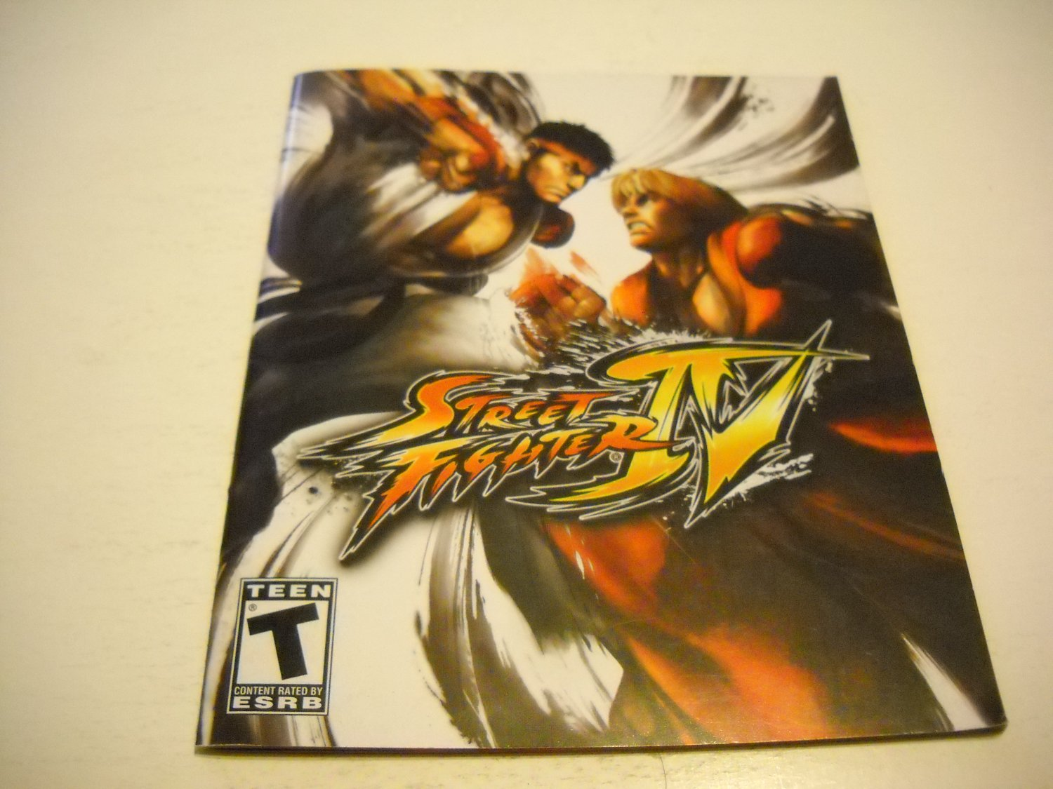 Manual ONLY ~  for Street Fighter VI / 4 , PS3