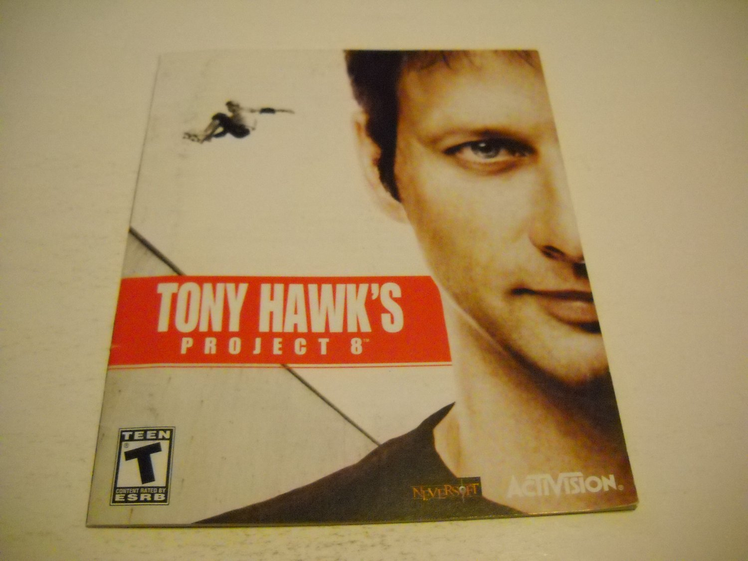 Manual ONLY ~  for Tony Hawk's Project 8 , PS3