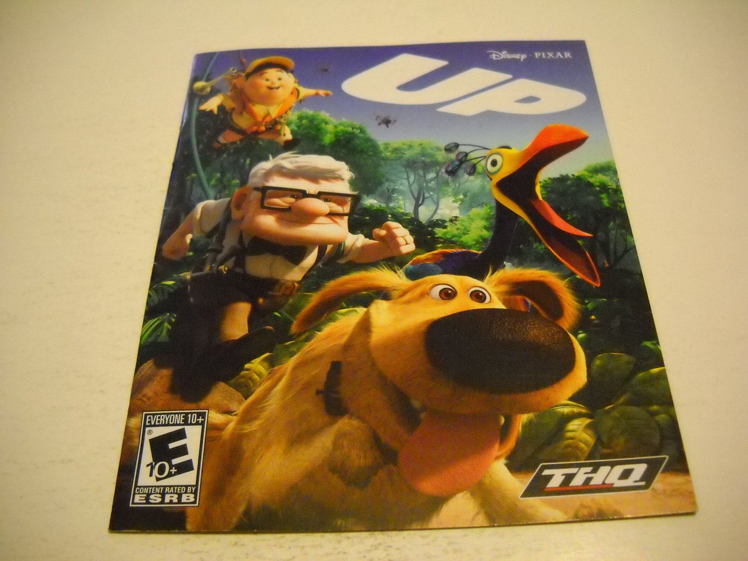 Manual ONLY ~  for Disney Pixar UP  , PS3