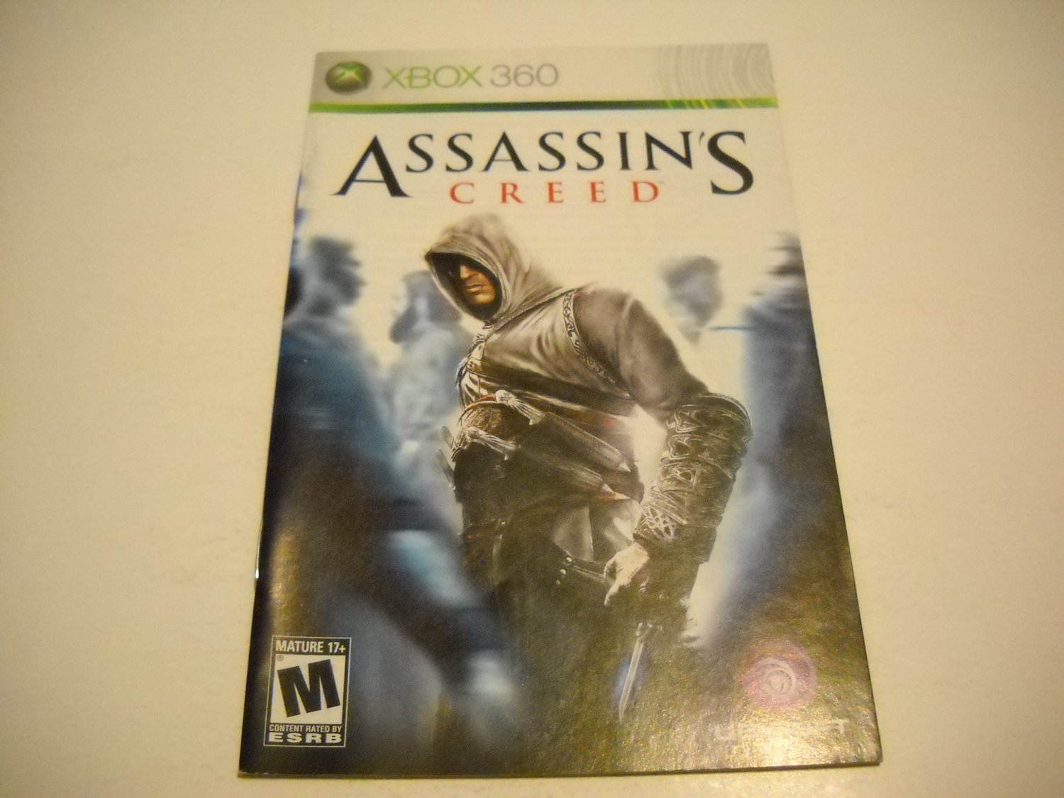 Manual ONLY ~  for Assassin's Creed   - Xbox 360 Instruction Booklet