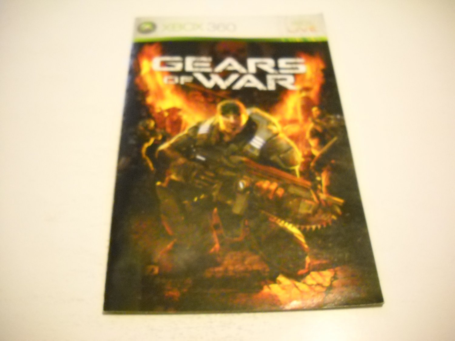 Manual ONLY ~  for Gears of War   - Xbox 360 Instruction Booklet