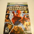 Manual ONLY ~  for Marvel Ultimate Alliance   - Xbox 360 Instruction Booklet