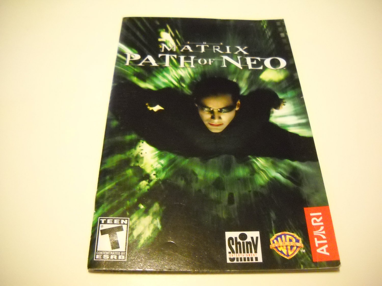 Manual ONLY ~  for The Matrix Path of Neo   Ps2