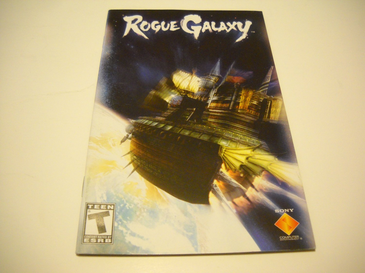 Manual ONLY ~  for Rouge Galaxy   Ps2