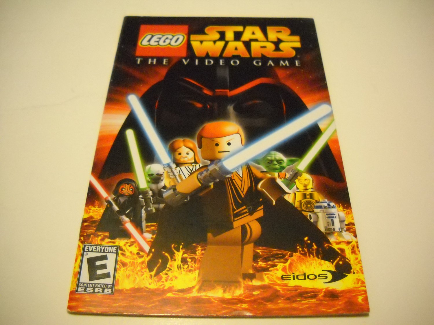 Manual ONLY ~  for Lego Star Wars The Video Game   Ps2