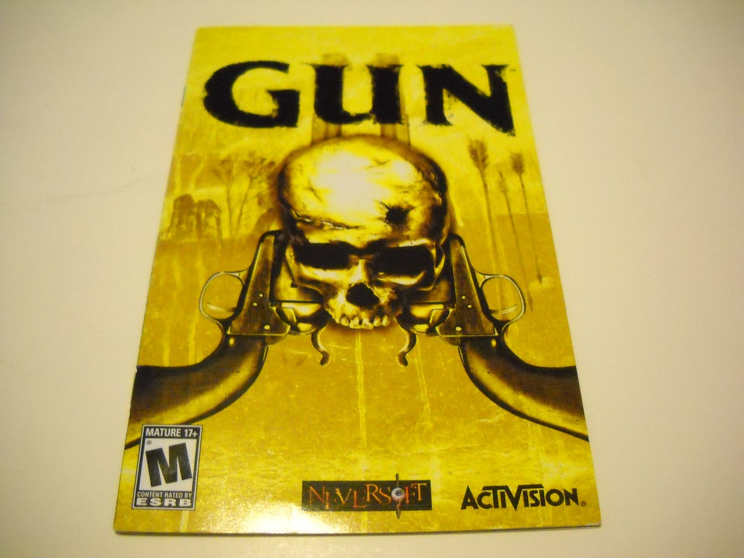 Manual ONLY ~  for Gun   Ps2