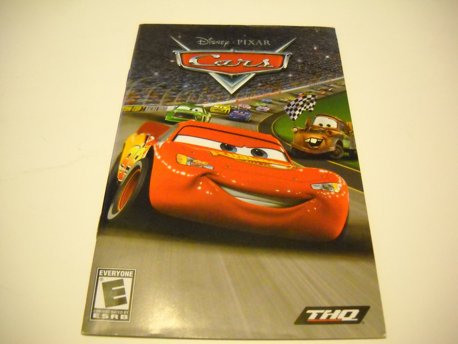 Manual ONLY ~  for Disney Pixar Cars   Ps2