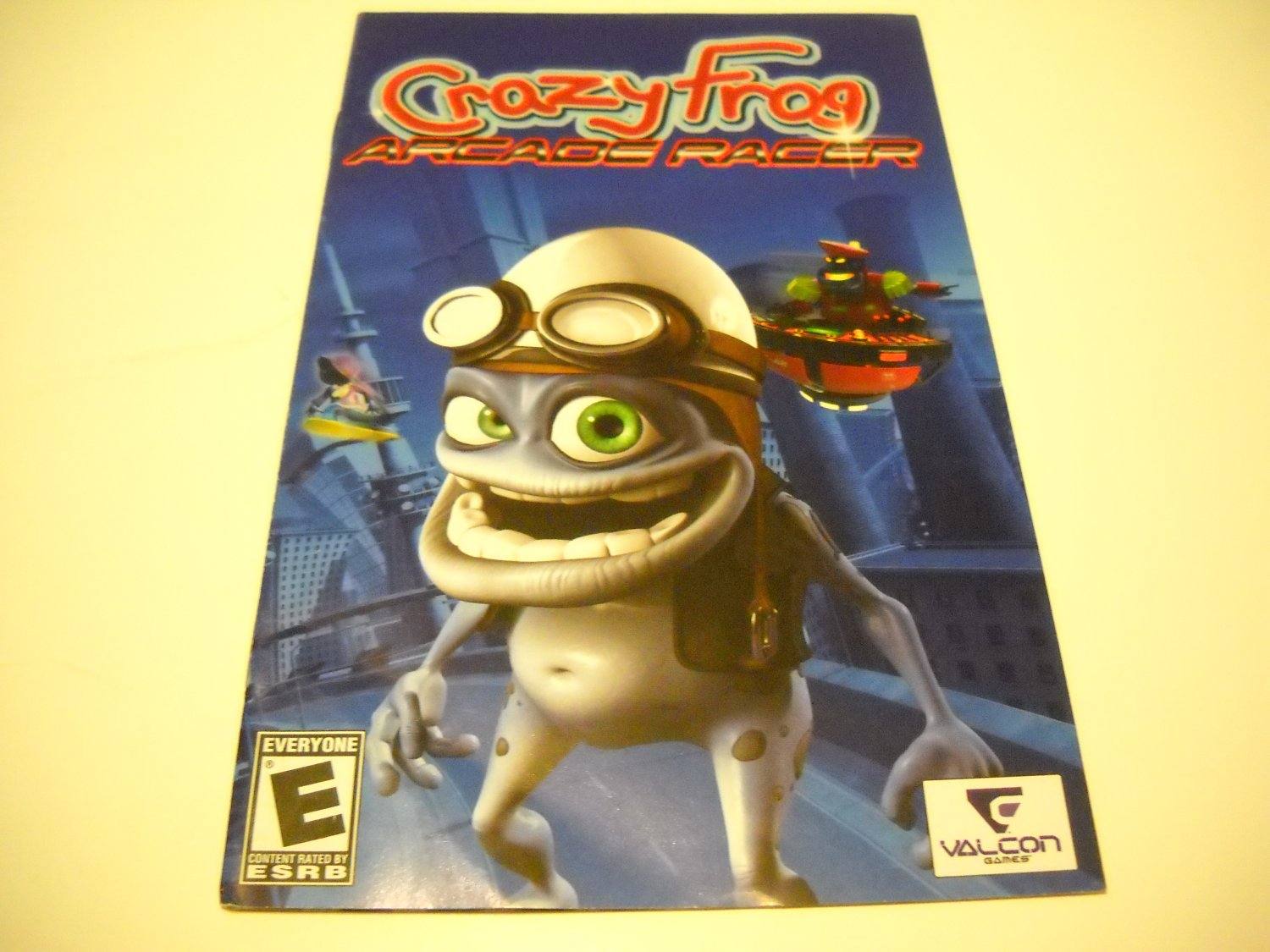 Manual ONLY ~  for Crazy Frog Arcade Racer   Ps2