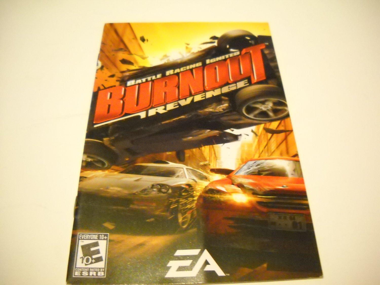 Manual ONLY ~  for Burnout Revenge   Ps2