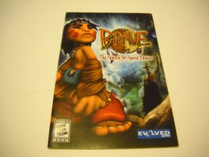 Manual ONLY ~  for Brave The Search for Spirit Dancer   Ps2