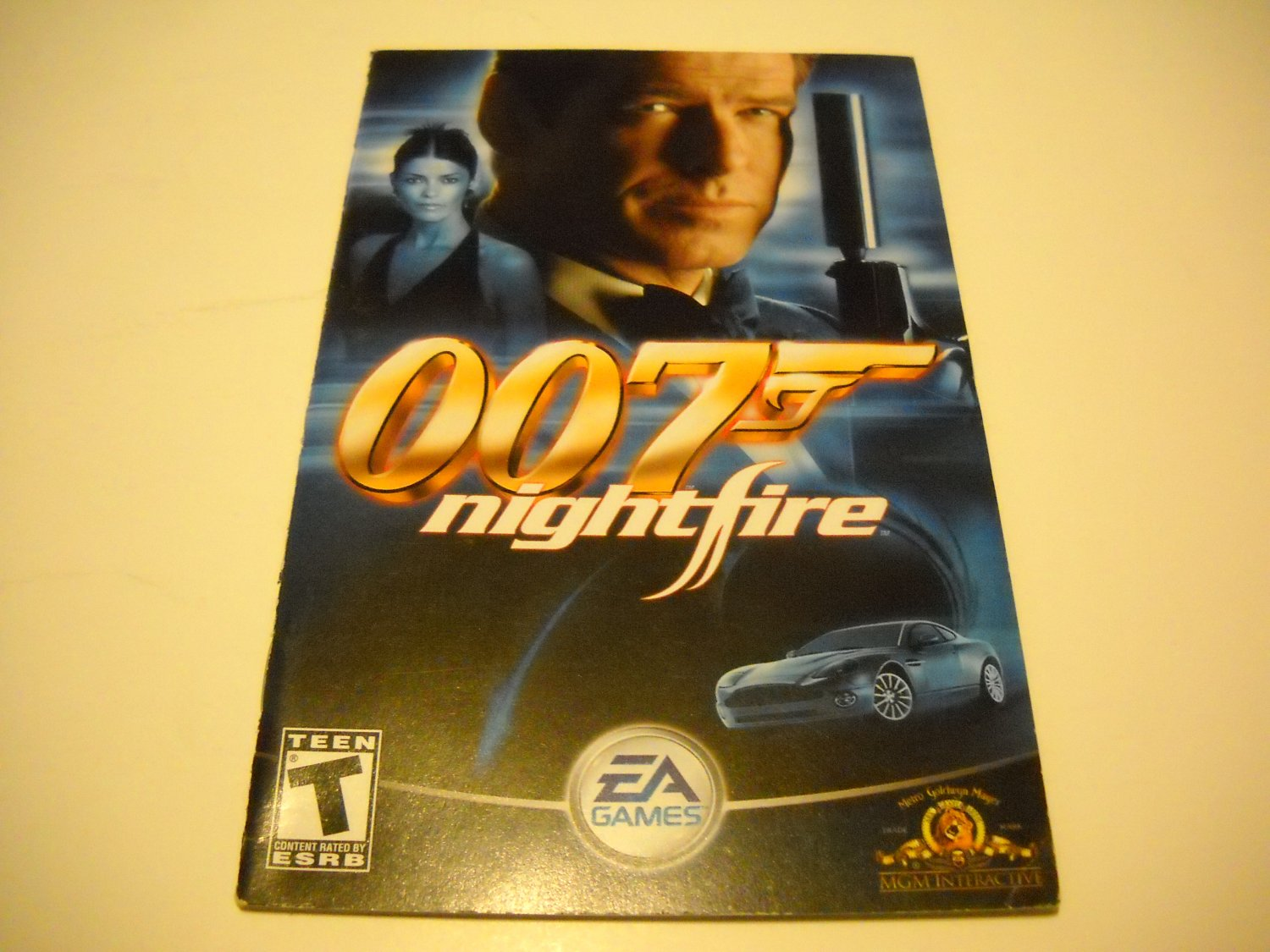 Manual ONLY ~  for 007 Nightfire   Ps2