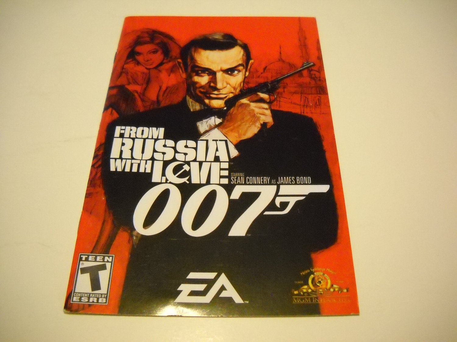 Manual ONLY ~  for 007 From Russia With Love   Ps2