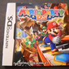 Manual ONLY ~ Mario Party DS --Instruction Booklet Nintendo DS