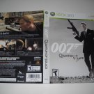 Artwork ONLY ~  007 Quantum of Solace  - Xbox 360 Cover Art Insert