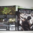 Artwork ONLY ~  Medal of Honor Airborne   - Xbox 360 Cover Art Insert