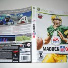 Artwork ONLY ~  Madden NFL 09   - Xbox 360 Cover Art Insert