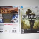 Artwork ONLY ~  Call of Duty Modern Warfare  - Nintendo Wii Cover Art Insert