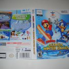 Artwork ONLY ~  Mario & Sonic at the Olympic Winter Games   - Nintendo Wii Cover Art Insert
