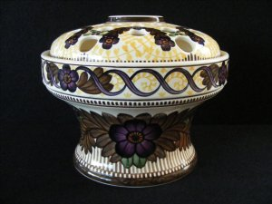 Royal Copenhagen Aluminia Arts & Crafts Center Bowl